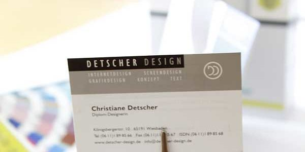 Redesign Logo Detscher-Design